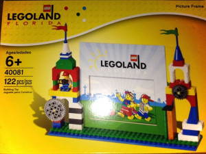 Legoland pictureframe - Florida edition