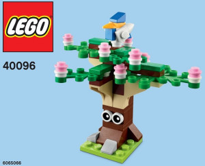 Monthly Mini Model Build Set - 2014 03 March, Spring Tree