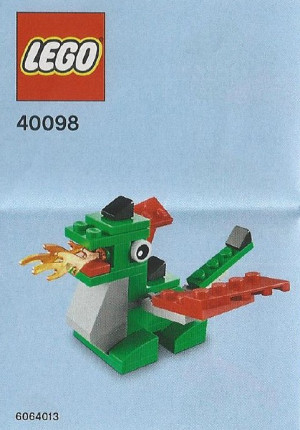 Monthly Mini Model Build Set - 2014 05 May, Dragon
