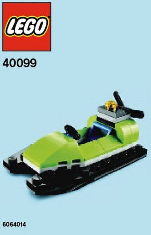 Monthly Mini Model Build Set - 2014 06 June, Jet Ski