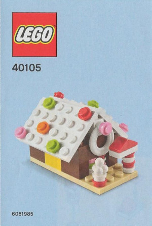 Monthly Mini Model Build Set - 2014 12 December, Gingerbread House