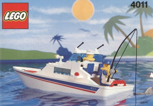 lego police boat instructions 4010