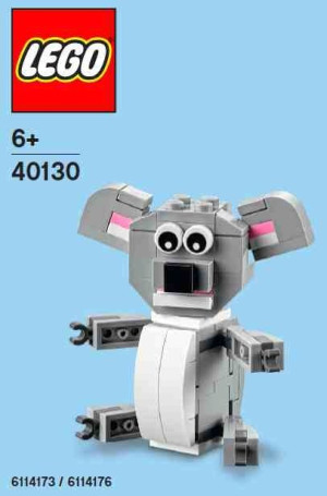 Monthly Mini Model Build Set - 2015 05 May, Koala
