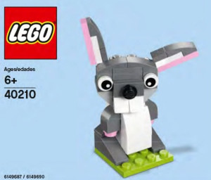 Monthly Mini Model Build Set - 2016 03 March, Easter Bunny