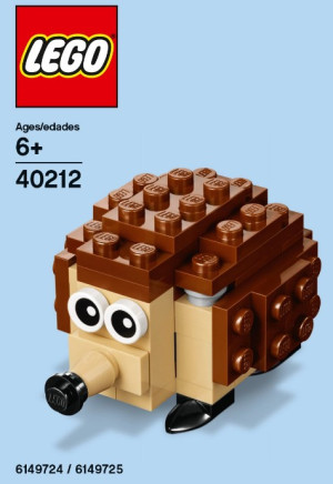 Monthly Mini Model Build Set - 2016 05 May, Hedgehog