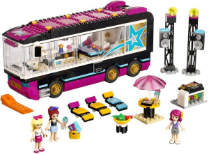 Pop Star Tour Bus