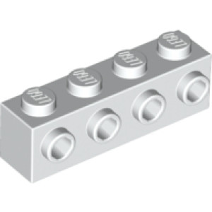 Brick 1x4 w. 4 knobs