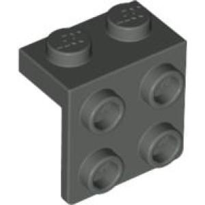 Konverterplatte Lego ® 10x Winkelplatte 1x2 2x2-44728 grau bracket