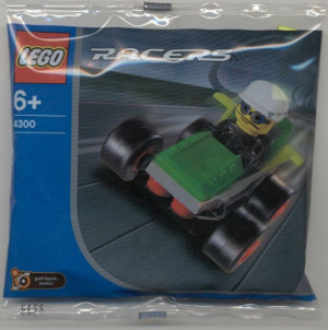 Green Racer polybag