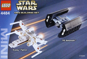 X-wing Fighter & TIE Advanced - Mini