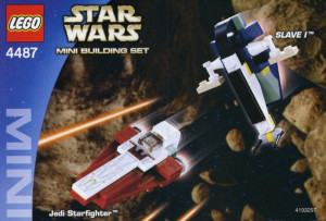 Jedi Starfighter & Slave I - Mini