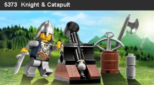 Knight and Catapault