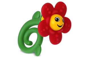 Happy Flower Rattle & Teether