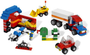 Ultimate LEGO Vehicle Building Set