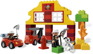 My First Lego Duplo Fire Station