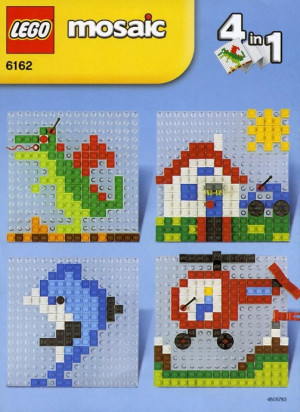 A World of LEGO Mosaic 4 in 1