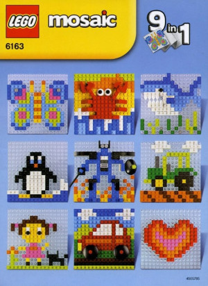 A World of LEGO Mosaic 9 in 1