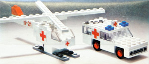 Ambulance and Helicopter