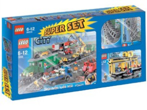City Super Pack 4 in 1 (7898, 7997, 7895, 7896)