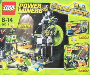 Power Miners Super Pack 3 in 1 (8709, 8958, 8959)