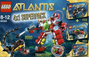 Atlantis Super Pack 4 in 1 (8057, 8058, 8059, 8080)