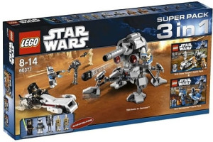 Star Wars Super Pack 3 in 1 (7869, 7913, 7914)
