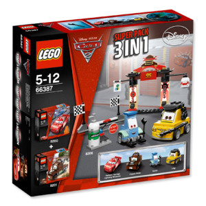 Cars 2 Super Pack 3 in 1 (8200, 8201, 8206)