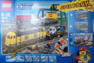 City Super Pack 4 in 1 (7939, 7937, 7499, 7895)