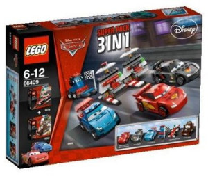 Cars Super Pack 3 in 1 (9478, 8201, 9485)