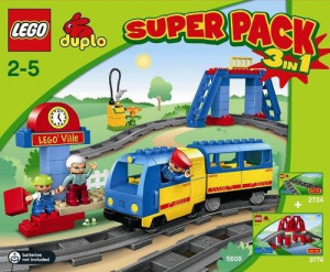 Duplo Super Pack 3 in 1 (2734, 3774, 5608)