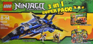 Ninjago Super Pack 3 in 1 (9441, 9442, 9591)