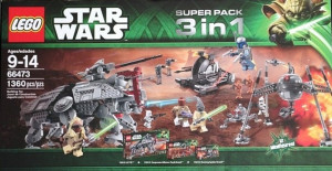 Star Wars Super Pack 3 in 1 (75015, 75016, 75019)