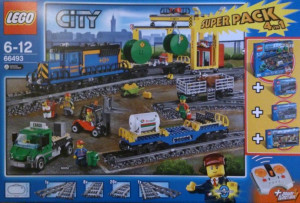 City Super Pack 4 in 1 (60050, 60052, 7499, 7895)