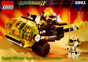 Blacktron Super Vehicle (Super Model instructions)
