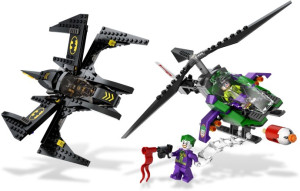 Batwing Battle Over Gotham City