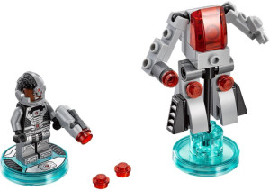 Fun Pack - DC Comics Cyborg and Cyber-Guard
