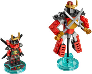 Fun Pack - Ninjago Nya and Samurai Mech