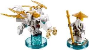 Fun Pack - Ninjago Sensei Wu and Flying White Dragon