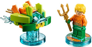 Fun Pack - DC Comics Aquaman and Aqua Watercraft