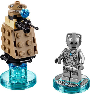 Fun Pack - Doctor Who Cyberman and Dalek