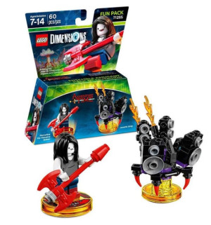Fun Pack - Adventure Time Marceline the Vampire Queen and Lunatic Amp