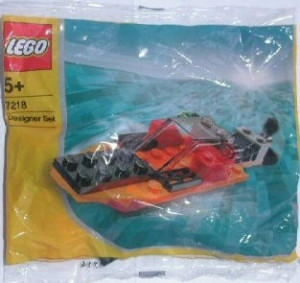 Orange Speedboat polybag