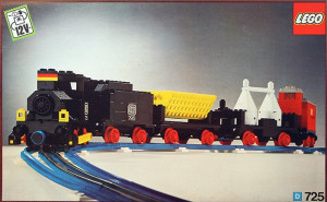 12V Freight Train and Track