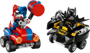 Mighty Micros Batman vs. Harley Quinn