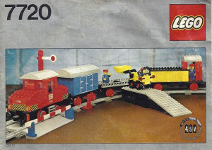 Diesel Freight Train Set, battery