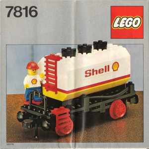 Shell Tanker Wagon