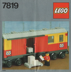 Postal Container Wagon Covered
