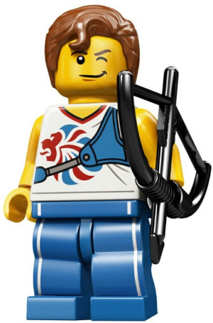 Minifigure Team GB Complete Random Set of 1 Minifigure