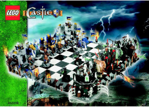 Castle Giant chess set