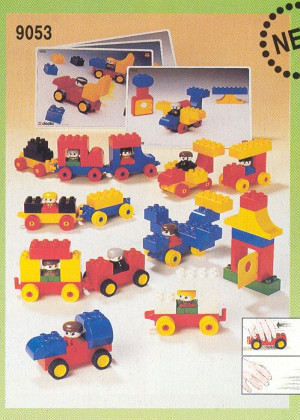 Duplo Basic Set Vehicles - 70 el.